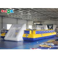 Wholesale 8*5m PVC Tarpaulin Inflatable Sports Games Inflatable Football Pitch from china suppliers