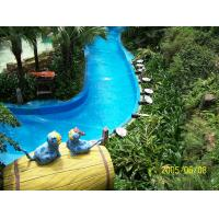 Wholesale Magnificent Durable Water Park Lazy River For Amusement Park , 0.9m - 1.2m Depth from china suppliers