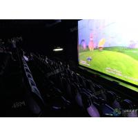 Buy cheap Electric 5D Cinema System / Solid And Stable Movie Theater Chairs from wholesalers