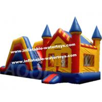 Wholesale Fire-retardant Waterproof 0.55mm Tarpaulin Inflatable Combo Bouncers from china suppliers