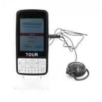 Quality Larger Screen Automatic Tour Guide System With Portable Receiver Lithium Battery for sale