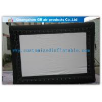 Wholesale Promotional Advertising Inflatable Movie Screen / Video Screen In Backyard from china suppliers