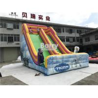 Wholesale Customized OEM Design PVC 0.5MM Kids Inflatable Dry Slide CE / UL Blower from china suppliers