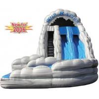 Wholesale inflatable wildrapids water slide,outside sliding lane is 35 feet long from china suppliers