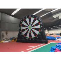 Wholesale Safety Inflatable Soccer Dart Board With Balls / Inflatable Football Target from china suppliers