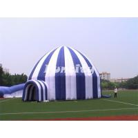 Wholesale Giant Stripe Luxury Camping Tents / Inflatable Lawn Tents Outside For Sale from china suppliers