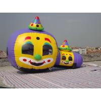 Wholesale Customized Inflatable Tunnel Maze / Pumpkin-Shaped Tunnel Games from china suppliers