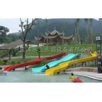 China 3 Lines Kid Water Slides Custom Commercial Water Slides Water Entertainment on sale