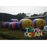 China Colourful Caterpillar Toy Inflatable Sport Game Worm Tunnel Maze Games For Kids on sale