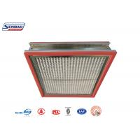 Wholesale High Temperature Resistance Thermostability High Temp Hepa Filter for Pharmaceutical from china suppliers