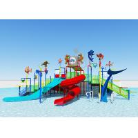 China Holiday Villa Kids Water Play Equipment  / Adventure Water Park Customized Size on sale
