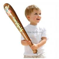 Wholesale Elegant Printing Kids Inflatable Baseball Bat Toys , Non-phthalate PVC Inflatable Baseball Bat Toys from china suppliers