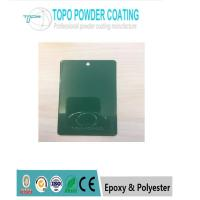 Green Color Pure Polyester Powder Coating RAL 6016 H Pencil Hardness for sale