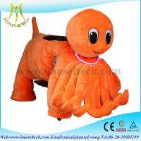 Wholesale Hansel coin operated animal ride plush toys play by play animal riding from china suppliers