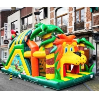 Wholesale 13.2X4.7X3M Inflatable Obstacle Course Playground Bounce House from china suppliers