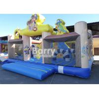 Wholesale Amusement Park Pirate Ship Inflatable Toddler Playground With Quality Assurance from china suppliers