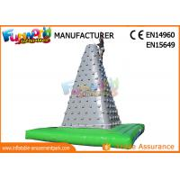 Big Inflatable Sports Games Outdoor Air Rock Climbing Wall CE UL SGS