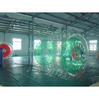 Wholesale 0.9mm Colorful PVC Custom Inflatable Water Roller / Pool Walker Roller Ball YHWR 008 from china suppliers