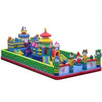 China Lucky Olympic Theme Inflatable Theme Park / Playground For Children on sale