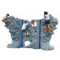Wholesale Interior Freestanding Rock Climbing Wall , Toddler Rock Climbing Wall High Rigidity from china suppliers