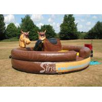 China Commercial giant adults outdoor inflatable mechanical horse ride for fun on sale