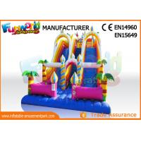 Wholesale Giant Vinyl Commercial Inflatable Slide / Double Inflatable Playground Slide from china suppliers