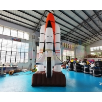 Wholesale EN71 Multi Red Rocket Air Characters Advertising Inflatables from china suppliers