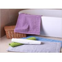 Wholesale Decorative Hotel Bath Mats / Plush Bathroom Rugs Washable Disposable from china suppliers