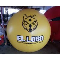 Wholesale 2m-10m PVC Yellow Inflatable Balloon/ Ball For Advertisement And Business Show from china suppliers