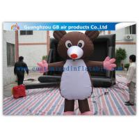 Large Inflatable Cartoon Characters Costume , Inflatable Mickey Mouse 2.2m