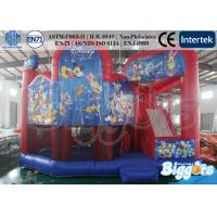 Wholesale Mickey Mouse Inflatable Combo , Kids Birthday Gift Bouncy Castle with Slide from china suppliers