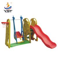 Wholesale LDPE Kids Swing Slide , Toddler Swing And Slide Set Easy Installation from china suppliers