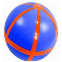 China Eco-Friendly PVC Inflatable Beach Balls , Safe Inflatable Soccer For Kids on sale