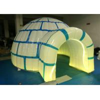 Wholesale Large Commercial Inflatable Igloo Tent 4.22 X 3.7 X 2.2 M Logo Printing from china suppliers
