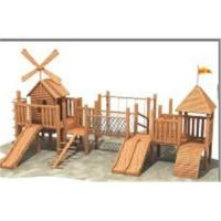 Buy cheap Wooden playground from wholesalers