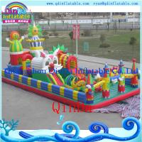 Wholesale QinDa inflatable air bouncer, bouncy castle sales inflatable jumping bouncer for sale from china suppliers