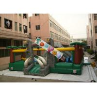 Wholesale Amazing Aiant Kids Inflatable Amusement Park / Inflatable Adventure For Rent from china suppliers