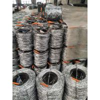 12*14 Bwg 60g High Zinc Coated Galvanized Barbed Wire Positive Used ...