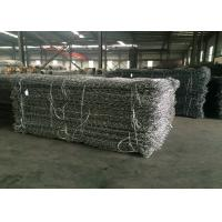 Wholesale Pvc Coated And Galvanized Gabion Basket / Gabion Wire Mesh For Protecting Dam from china suppliers