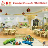 China Children wood table and chairs Wooden Montessori School Furniture factory in China on sale