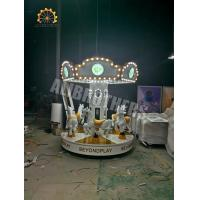 Wholesale 6 Seats Indoor Amusement Park Rides Mini Carousel Horse Ride 2.6m Diameter from china suppliers