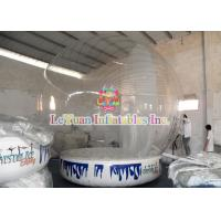 China Halloween Giant Inflatable Human Snow Globe Tent Outdoor Decoration on sale