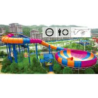 Wholesale spray water park family water space bowl slide for aqua theme park from china suppliers