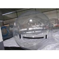 China Transparent Inflatable Water Toys , Jumbo Crazy Water Ball for Kids on sale