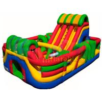 Wholesale Multi Adult Jumping Inflatable Amusement Park Bouncy Castle Slide from china suppliers