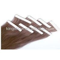 China pre tape in Remy hair extensions on sale
