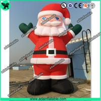 Wholesale Advertising Giant Inflatable Santa Claus Cartoon Christmas Decoration Inflatable Mascot from china suppliers