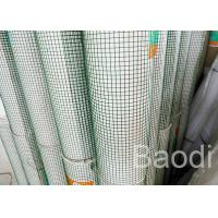 Wholesale Square Grid Green Garden Fencing Roll, PVC Coated Chicken Wire Fence30 M Length from china suppliers