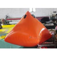 Wholesale Fire Proof Inflatable Triangle Inflatable Marker Buoy 2 Years Warranty from china suppliers