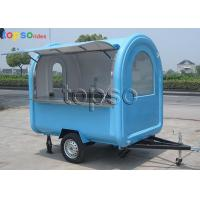 Ice Cream Coffee Mobile Concession Stand Large Appeal Convenient To Go Anywhere